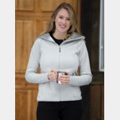 DRYFRAME DRY TECH FLEECE FULL ZIP HOODED LADIES' JACKET Thumbnail